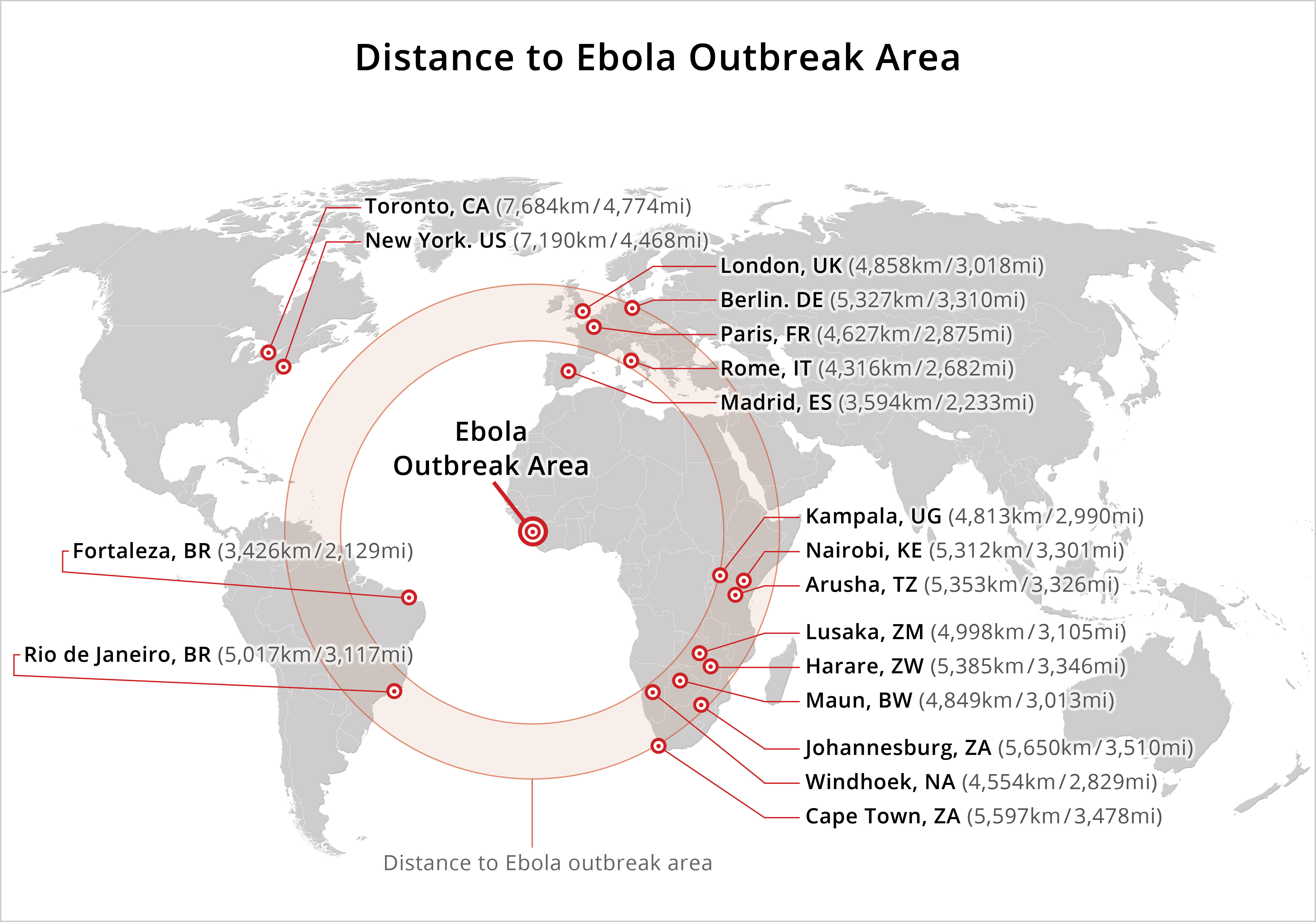 the spread of the ebola virus As history's worst ebola outbreak produces its first case on us soil, experts explain how ebola is spread.